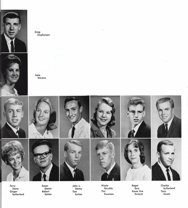 1964 Yearbook Photos
